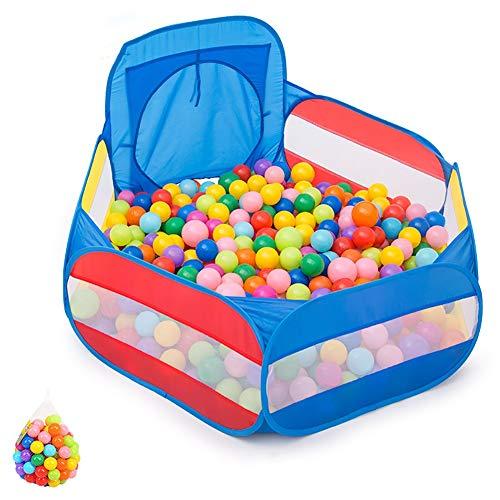 LBYMYB Kinder Spiel Zaun Kinder Ball Pit Kleinkind Ball Baby Spiel Pit Aufbewahrungstasche ist sehr geeignet für Kinder Indoor Indoor-Spiele für Haustiere Kinderschutz (Kleinkinder Pit Ball)