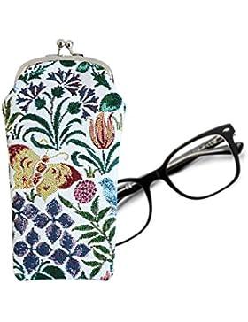 Estuche para gafas Signare en tela de tapiz