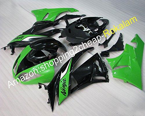 Ninja ZX6R Bodyworks Verkleidung für Kawasaki Ninja ZX-6R 2009-2012 ZX/6R ZX 6R Motorrad-Verkleidung (Spritzguss) (Verkleidungen 2009 Zx6r)