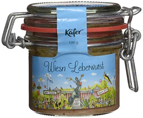 Feinkost Käfer Wies`n Leberwurst, 2er Pack (2 x 100 g)