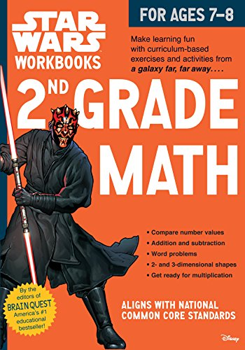 2nd Grade Math (Star Wars Workbooks)