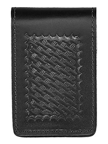 Aker Leather 582 3 X 5 Notebook Cover, Black, Basketweave by Aker Leather