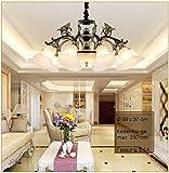 Plafonnier x8240+ 10de la Couronne Lampe de lustre salon Lampe suspension plafonnier plafond Spot Plafonnier