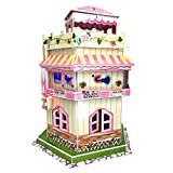 Best Gifts For An 8 Year Old Girls - Sourcingbay 3D Puzzle Romantic Dollhouse With Led Ambient Review
