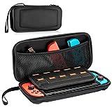 Nintendo Switch Tasche, Reise Tragetasche Portable Schutz Hard Shell Tasche für Nintendo Switch Konsole, Spiele, Joy-Con und Zubehör