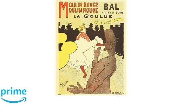 Moulin Rouge La Goulue Toulouse Lautrec Poster New Reproduction Art Print 320