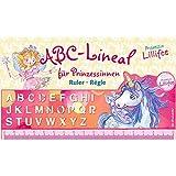 Righello ABC con lettere alfabeto, Unicorno, Principessa Lillifee
