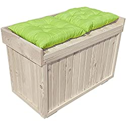 proheim Cajón con asiento 100 % de madera FSC, estable, universal