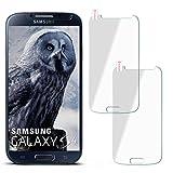 moex 2X 9H Panzerfolie für Samsung Galaxy S4 | Panzerglas Display Glasfolie [Tempered Glass] Screen Protector Glas Displayschutz-Folie für Samsung Galaxy S4 / S IV Schutzfolie