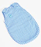 Frilly Lily Blue Gingham Sleep Sac for Dolls 18-20 inches[ 45-50 cm]Such as 46 cm Baby Annabell, Chou Chou , Corolle Classiques 46 cm .