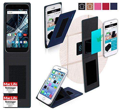 reboon Hülle für Archos 50 Graphite Tasche Cover Case Bumper | Blau | Testsieger