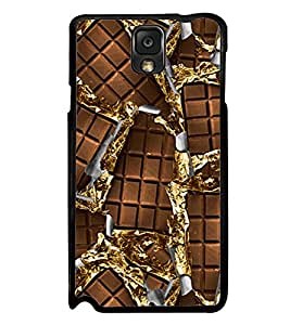 Printvisa Ultra Chocolate 2D Hard Polycarbonate Designer Back Case Cover for Samsung Galaxy N...