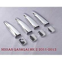 Tapas para tirador de puerta de coche para Nissan Qashqai MK 22011–2013
