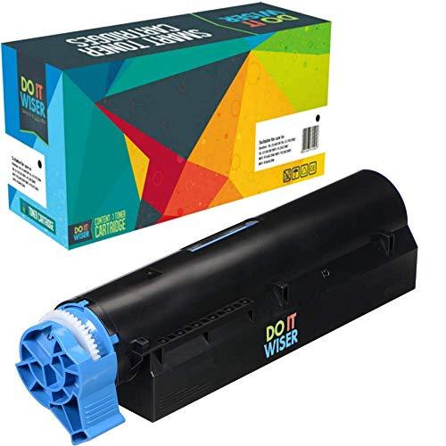 Do it Wiser Kompatibel Toner 45807102 Toner für Oki B412DN B432DN MB472DNW B412 B432 B512 MB472 MB472DW MB492 MB562 (3000 Seiten) -
