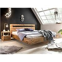 woodkings holz bett 180x200 marton doppelbett recycelte pinie schlafzimmer massivholz design doppelbett schwebebett massive naturmobel