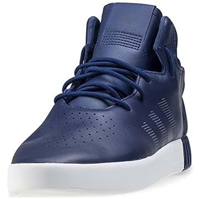 adidas Tubular Invader, Chaussures de Gymnastique Homme, Verde (Ngtcar/Ngtcar/Vinwht), 42 EU
