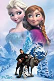 Poster Frozen - Collage - preiswertes Plakat, XXL Wandposter
