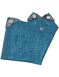 Red De Sombra Azul De Alquitrán, Protección Contra El Cifrado De Protección Solar Jardín De