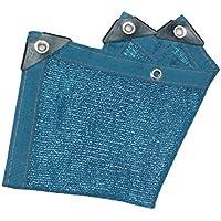 Red De Sombra Azul De Alquitrán, Protección Contra El Cifrado De Protección Solar Jardín De Malla De Jardín Malla De Sombreado De Sombreado De Flor (Disponible En Una Variedad De Tamaños),3M*4M