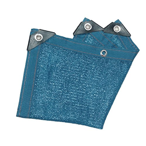QINAIDI Plane Blue Shade Net, Sonnenschutz Verschlüsselung Net Garten Balkon Pflanze Blume Shed...
