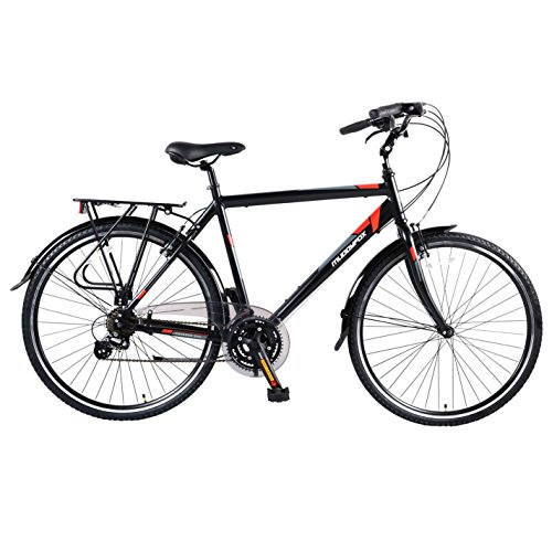 51BOP79SaGL. SS500  - Muddyfox Mens Voyager 200 Bicycle Cycle Bike Velocipede 21 Speed Gears