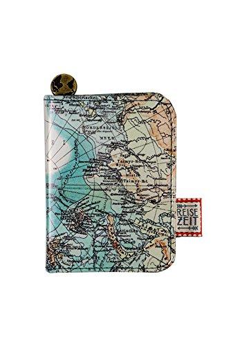 Set manicure a tema Mappa del mondo - Tempo di Viaggio