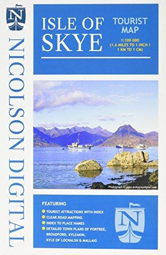 Nicolson Isle of Skye Tourist Map por Val Fry