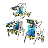 #6: Emob 14 in 1 Educational Solar Robot Kit (Multicolor)
