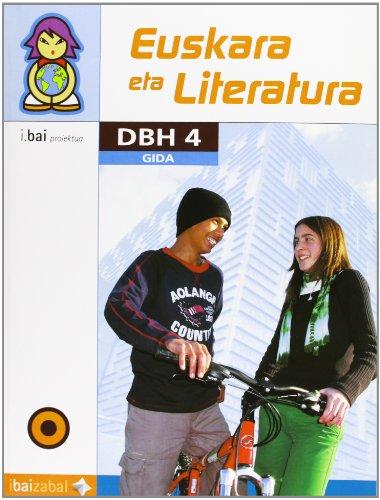 Euskara eta Literatura -DBH 4- Gida: I.Bai