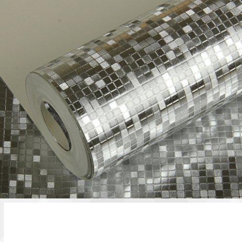 mosaico oro carta da parati dorata/Sfondo di plafoniere a piscina privata soffitto carte da parati-A