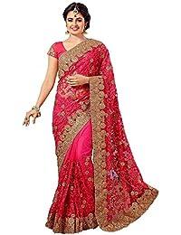 Arohi Designer Women'S Clothing Saree For Women Latest Design Saree New Collection 2018 (ZohariPink-AROHIM15*...