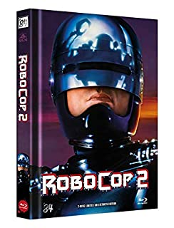 RoboCop 2 - 2-Disc Limited Collector's Edition - Uncut - Mediabook, Cover B (+ DVD) [Blu-ray]