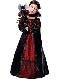 K-youth Ropa De Bebé Niña Halloween Bruja Dress Cosplay Disfraz Vestidos Niña
