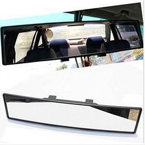 Preisvergleich Produktbild ot-spot Auto 300 mm breit konvex gebogen Innen Clip auf Panorama Rückspiegel mit Klar getönt