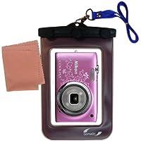 Une housse pour appareil photo très légère et hermétique pour le Nikon Coolpix S2700 / S2750