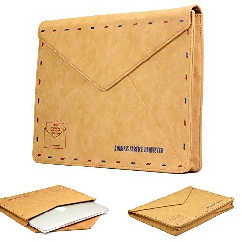 Urcover MacBook 15 Zoll (46 cm) MacBook Pro Retina Sleeve Hülle Tasche Ultrabook Laptop Schutz-Tasche für Apple MacBook sowie iPad und Tablet bis Lenovo Yoga 500 im Postkarten Design