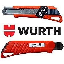 Würth Cuttermesser 18mm inkl. 3 Abbrechklingen