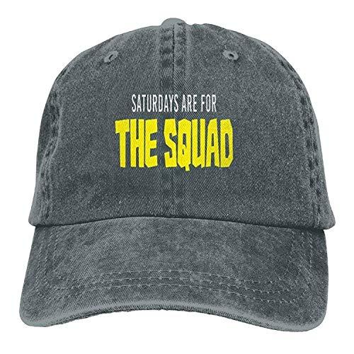 Les samedis sont pour la Mode Squad Denim Coton Sport Outdr Baseball Chapeau Réglable One Size Asphalt 01Y475