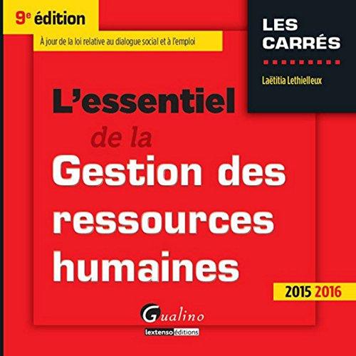 l-39-essentiel-de-la-gestion-des-ressources-humaines-2015-2016-9me-ed