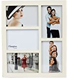 GAL5APCR Gallery High Quality Cream Five 4x6in/A6 (10x15cm) Beautifully Crafted Multi Aperture Photo Frame Wall Hang Only