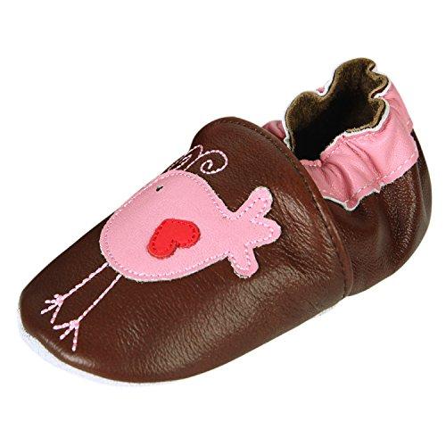 CHIC-CHIC- Chaussures Bébé - Chaussons Bébé - Chaussons Cuir Souple - Chaussures Cuir Souple - Chaussures Premiers Pas - Chaussures Bébé Fille Chaussures Bébé Garçon