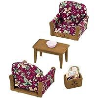 Epoch Sylvanian Families Sylvanian Family Living Room Arm Chair Sofa set KA-509 (japan import)