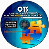 QTS Literacy Skills Test: audio-visual WINDOWS CD for the 4 Practice Tests 2015-2016 (2nd Edition)
