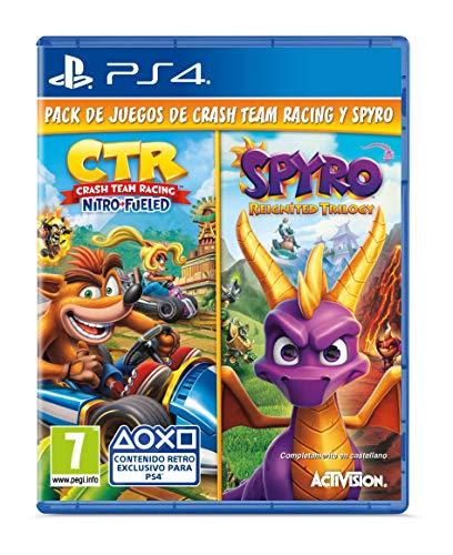 Crash Team Racing Nitro Fueled + Spyro Reignited Trilogy bundle (Edición Exclusiva Amazon) - PlayStation 4 [Edizione: Spagna]