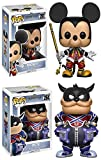 Funko POP! Kingdom Hearts: Mickey + Pete - Disney Stylized Video Game Vinyl Figure Set NEW