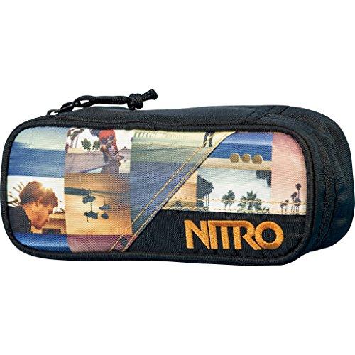 Nitro Uni Federmäppchen Pencil Case California, 20 cm x 8 cm x 6 cm