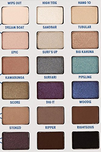 ADS BALMSAI 18 Colors Eyeshadow and Brow Palette with Shaping Stencils