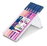 STAEDTLER Fasermaler triplus color ´MY flamingo COLOURS´, 6er