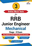 Disha Publication 3 Online Mock Tests for RRB Junior Engineer Mechanical Stage – II Exam (Email Delivery in 2 Hours - No CD)