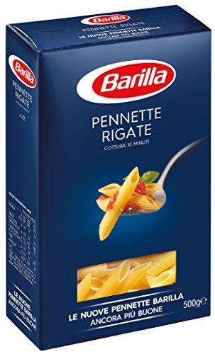 Barilla Pasta Pennette Rigate, Pasta Corta di Semola di Grano Duro, I Classici, 500 g